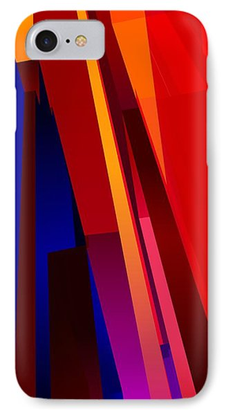 Primary Skyscrappers Phone Case by James Kramer