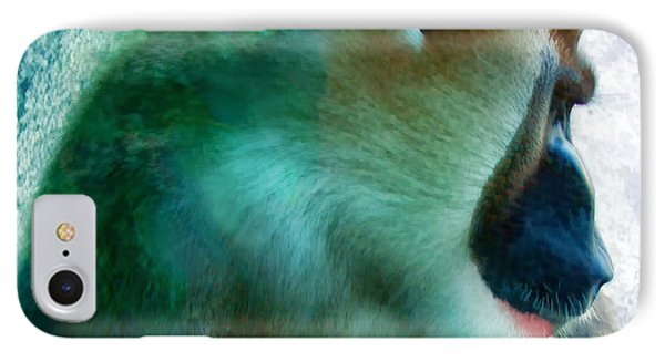 IPhone Case featuring the photograph Primate 1 by Dawn Eshelman