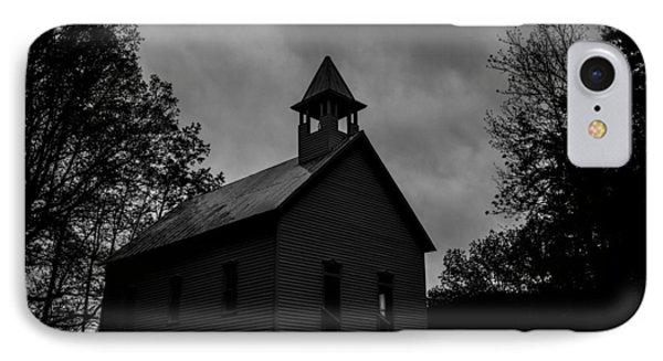 Primitive Church Phone Case by Sherri Duncan