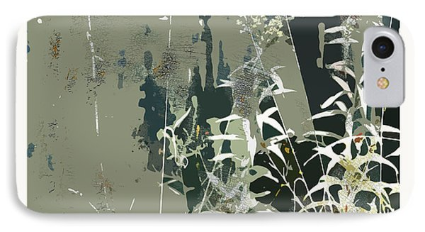 IPhone Case featuring the digital art Primordial Verdure by Bob Salo