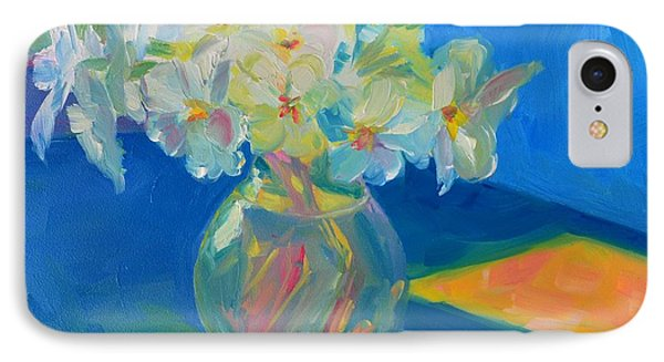 Primroses In Spring Light - Still Life IPhone Case