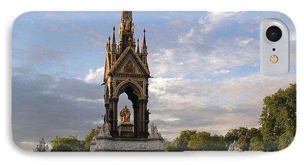 Prince Albert Memorial IPhone Case by Bev Conover