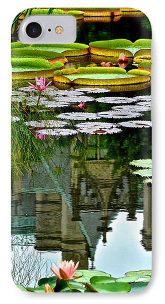 Prince Charmings Lily Pond Phone Case by Frozen in Time Fine Art Photography