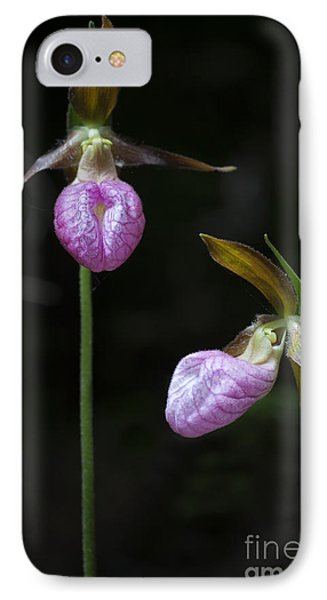 Prince Edward Island Lady Slippers IPhone Case by Verena Matthew