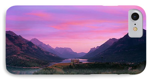Prince Of Wales Hotel In Waterton Lakes IPhone Case by Panoramic Images