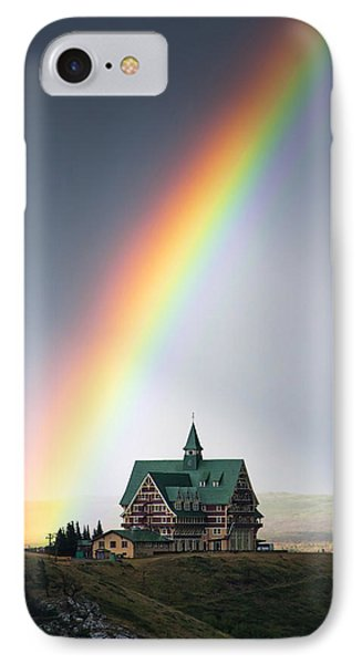 Prince Of Wales Rainbow Phone Case by Mark Kiver
