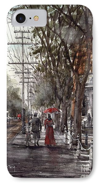 IPhone Case featuring the painting Prince Street by Tim Oliver