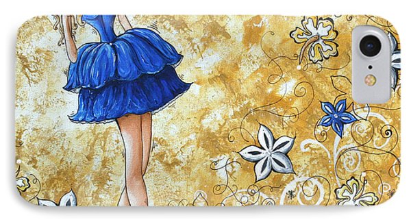 Princess By Madart Phone Case by Megan Duncanson