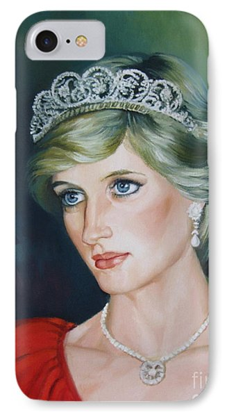 Princess Diana IPhone Case by Elena Oleniuc