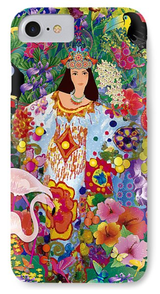 Princess Guajira IPhone Case by Gabriela Delgado