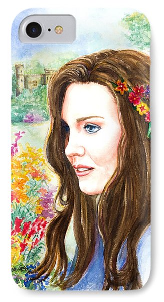 Princess Kate Phone Case by Patricia Allingham Carlson