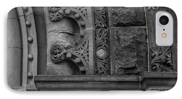 IPhone Case featuring the photograph Princeton Architectural Detail by Glenn DiPaola