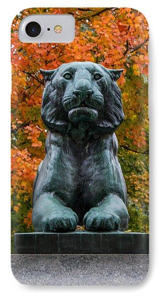 Princeton Panther IPhone Case by Glenn DiPaola
