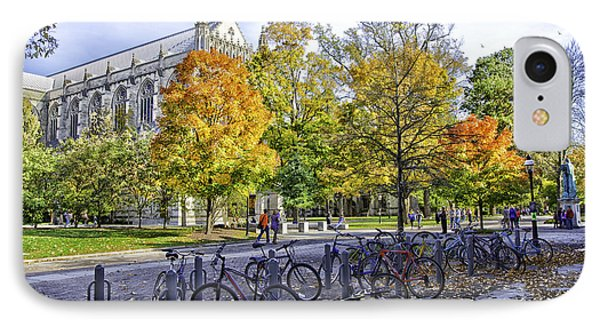 Princeton University Campus IPhone Case by Madeline Ellis