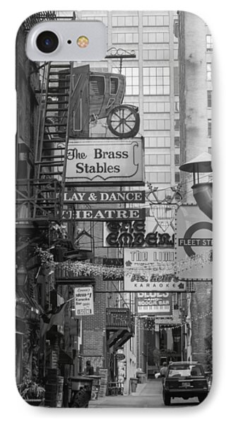 Printers Alley Nashville  IPhone Case by Robert Hebert