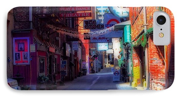 Printers Alley Nashville Tennessee Phone Case by Dan Sproul