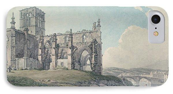 Prior Church, Haddington, 1786 Wc On Paper IPhone Case