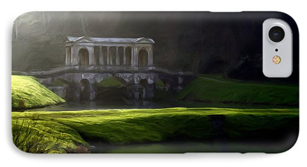 Prior Park Bath IPhone Case by Ron Harpham