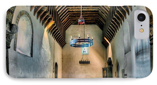 Priory Church Of St Seiriol Phone Case by Adrian Evans