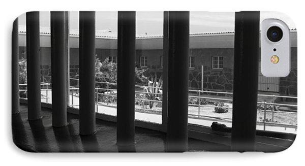 Prison Cell View Phone Case by Aidan Moran