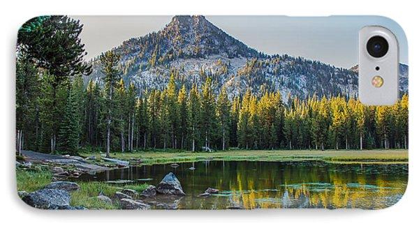 Pristine Alpine Lake Phone Case by Robert Bales