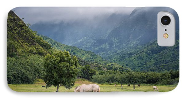 Pristine Pastures  IPhone Case by Hawaii  Fine Art Photography