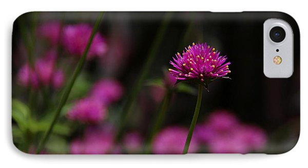 Pretty In Pink IPhone Case by Yvonne Wright