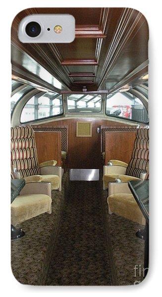 Private Dome Rail Car  IPhone Case by Joseph Baril