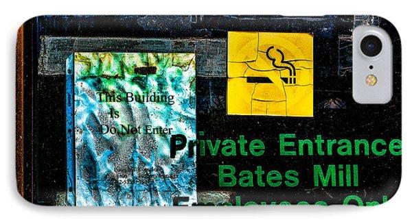 Private Entrance Phone Case by Bob Orsillo