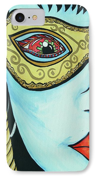 Private Eye Phone Case by Lorinda Fore