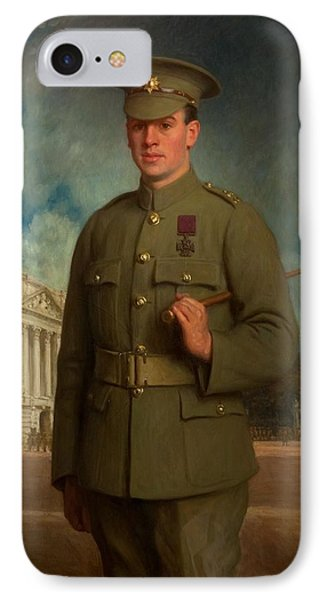 Private Thomas Whitham, Vc, 1918 IPhone Case