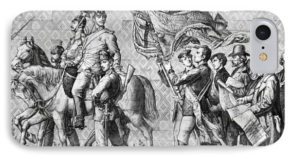 Procession Of Princes - Dresden Germany Phone Case by Christine Till