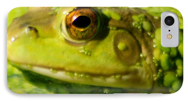 Profiling Frog IPhone Case by Optical Playground By MP Ray