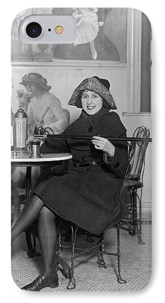 Prohibition Furtive Drink 1922 IPhone Case