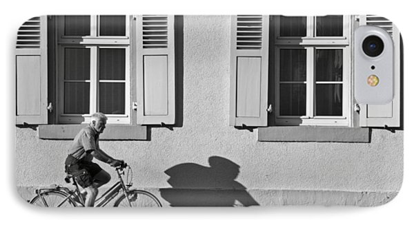 Promenade Of A Shadow IPhone Case by Jean-Pierre Ducondi