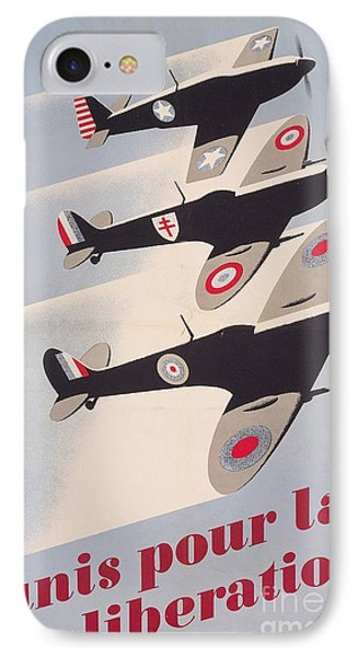 Propaganda Poster For Liberation From World War II IPhone Case