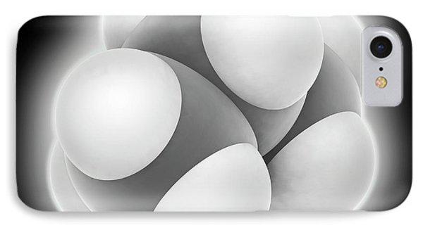 Propane Molecule IPhone Case by Laguna Design