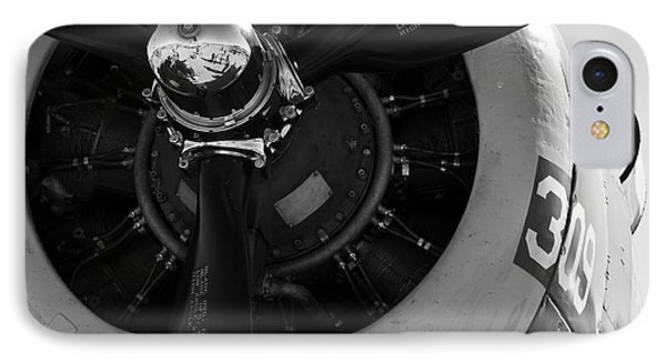 Propeller IPhone Case by Kirt Tisdale