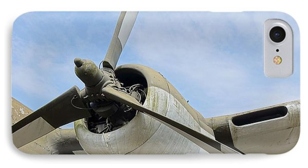 Propeller Of An Old Aircraft IPhone Case