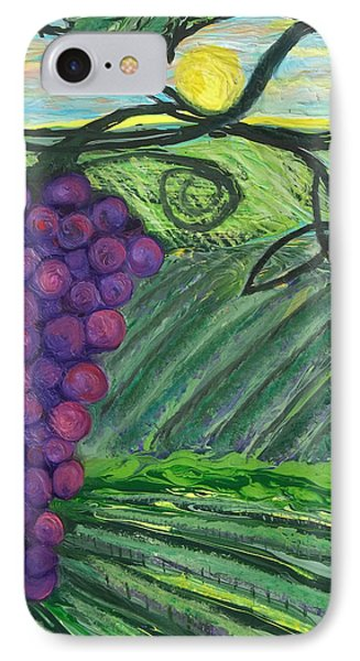 Prophetic Message Sketch 18 Vineyard Infinity Trinity Phone Case by Anne Cameron Cutri