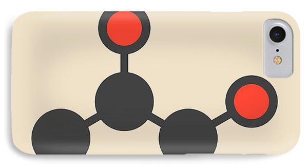 Propylene Glycol Molecule IPhone Case by Molekuul