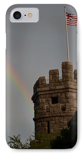 Prospect Hill Somerville Ma Rainbow IPhone Case by Toby McGuire