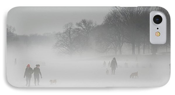 Prospect Park Brooklyn In Winter IPhone Case