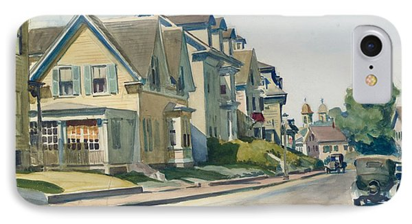 Prospect Street IPhone Case by Edward Hopper