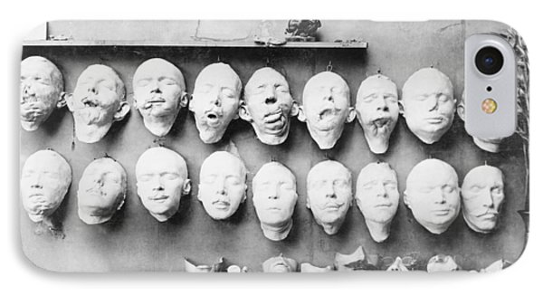 Prosthetic Masks Casts IPhone Case by Library Of Congress