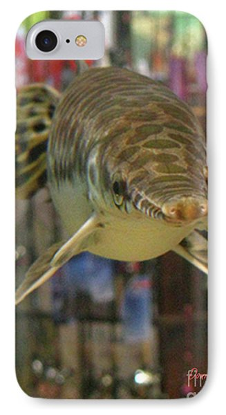 IPhone Case featuring the photograph Protected Gar by Donna Brown