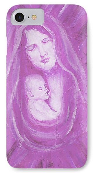Protecting Love Of The Mother  Phone Case by The Art With A Heart By Charlotte Phillips