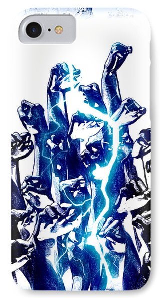 Protest The Power Phone Case by Frederico Borges