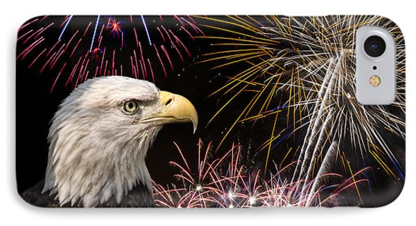 Proud And Free 7 IPhone Case by Penny Lisowski