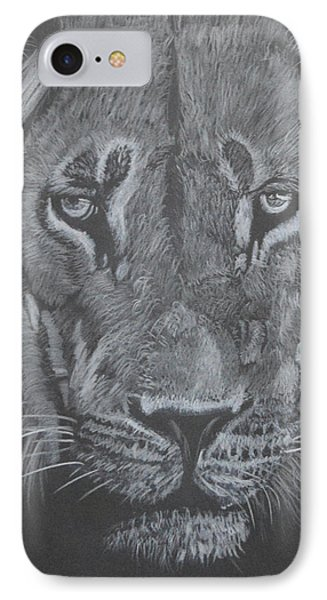 Proud Lion IPhone Case by Zilpa Van der Gragt